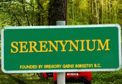 Serenynium© road sign